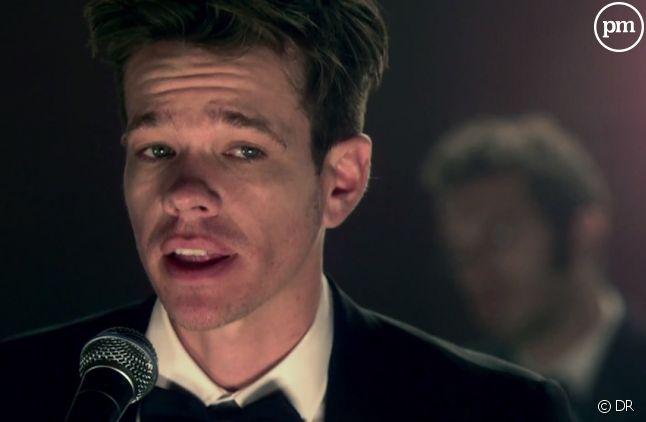 """Nate Ruess, chanteur du groupe fun., dans le clip """"We Are Young"""""""