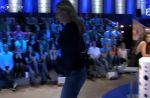 Zapping : Mathilde Seigner se vexe et quitte le plateau de Laurent Ruquier