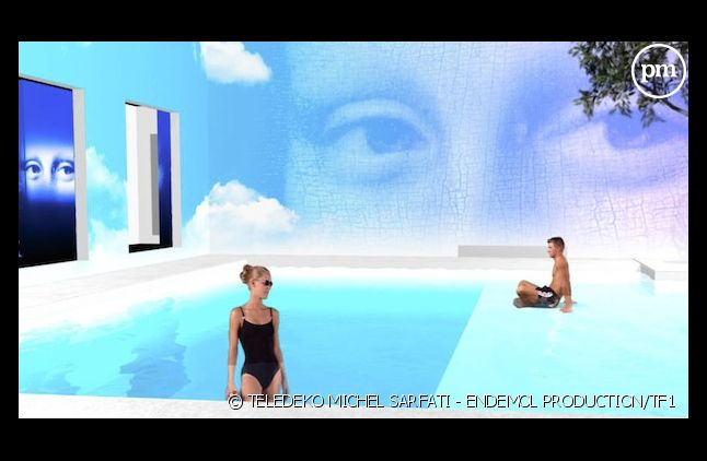 "Le plan 3D de la piscine de ""Secret Story 6"""
