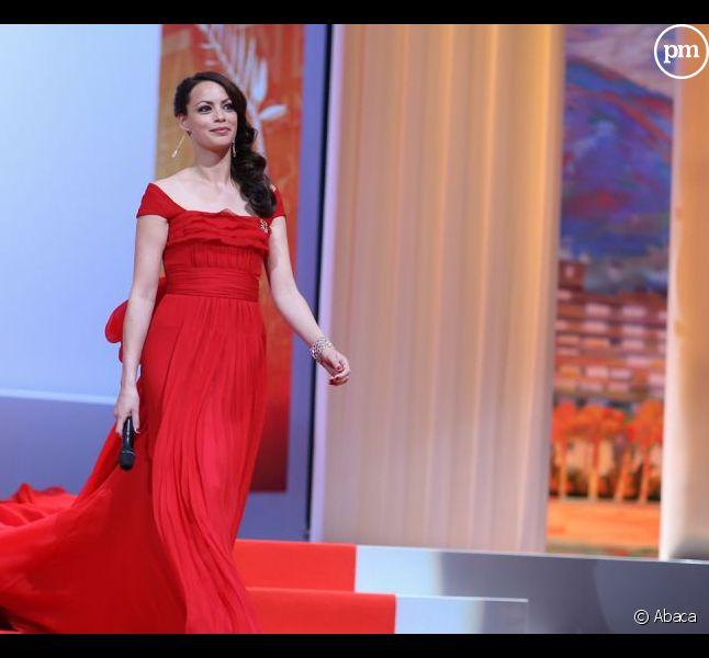 Bérénice Bejo lors de la cérémonie d'ouverture du 65e Festival de Cannes.