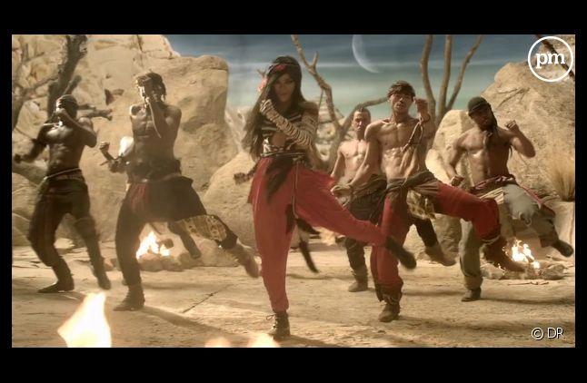 """Rihanna dans le clip de """"Where Have You Been"""""""