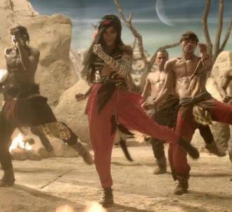Rihanna dans le clip de 'Where Have You Been'