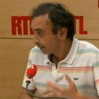 Mise au point d'Eric Zemmour lundi matin sur RTL, qui persiste et signe après sa chronique sur Christiane Taubira