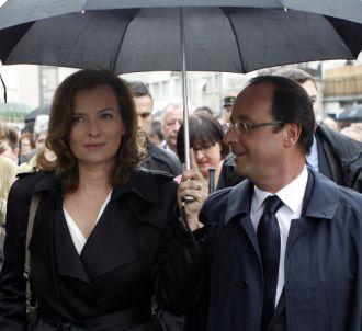 Valérie Trierweiler et François Hollande, le 10 juin 2012.