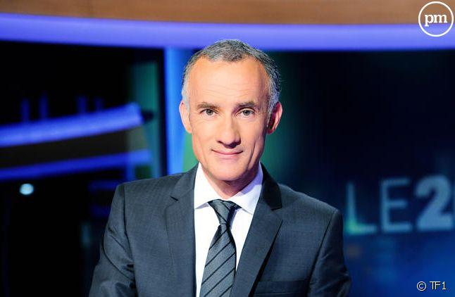 Gilles Bouleau, nouveau titulaire du 20 heures de TF1.