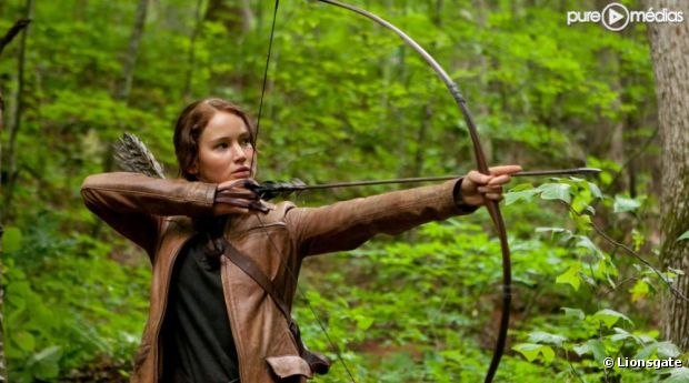 "Jennifer Lawrence dans ""Hunger Games"""