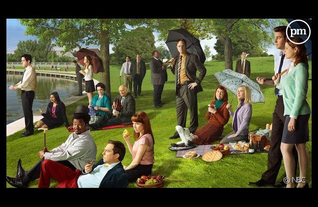 """Le cast de """"The Office"""""""