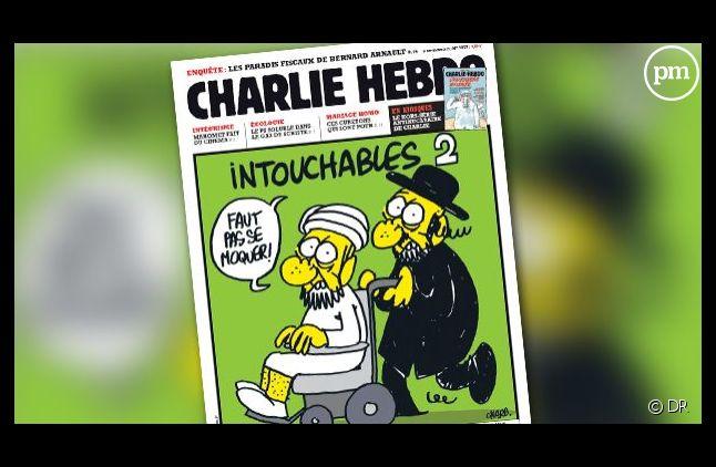 La Une de Charlie Hebdo datée du 19 septembre 2012.