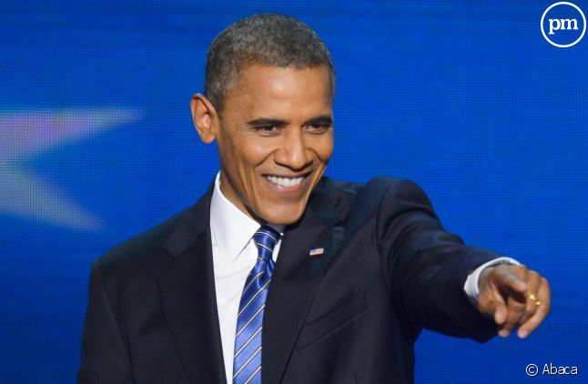 Barack Obama, lors de son discours d'investiture.