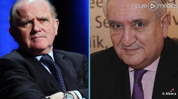 François Goulard et Jean-Pierre Raffarin.