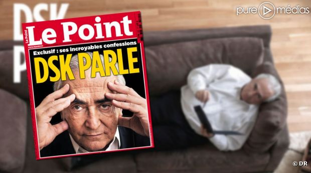 "DSK à la Une du ""Point"" daté du 11 octobre 2012"
