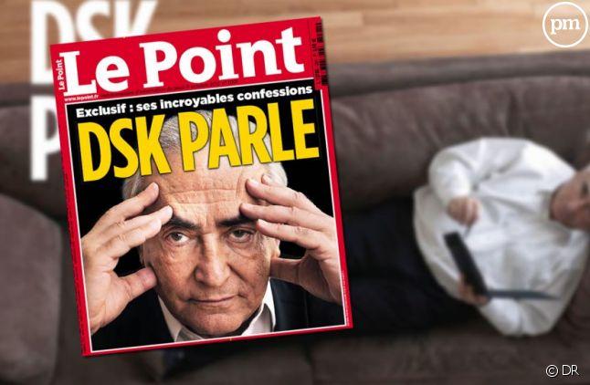 """DSK à la Une du """"Point"""" daté du 11 octobre 2012"""