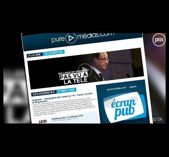 La newsletter de Puremedias.com