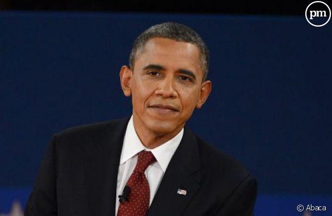 Mitt Romney et Barack Obama, lors du deuxième débat présidentiel.