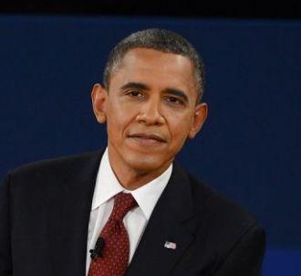 Mitt Romney et Barack Obama, lors du deuxième débat...