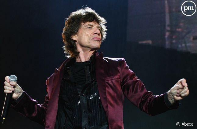 Mick Jagger au Seaclose Park, en 2007.