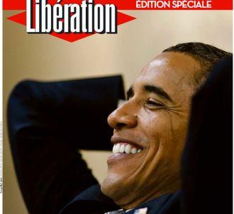La Une de Libération consacréé à la réélection de Barack...