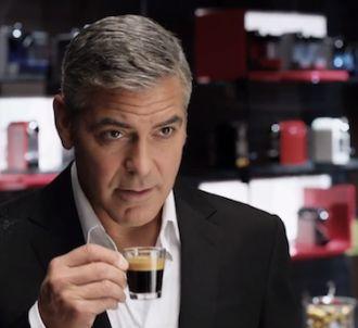 Nouveau spot publicitaire Nespresso, toujours avec George...