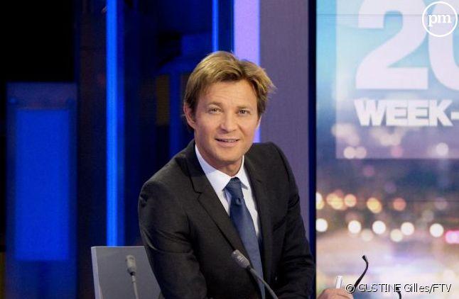 Laurent Delahousse aimerait incarner un nouveau rendez-vous d'informations, le dimanche à 19 heures.