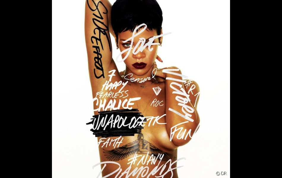 "1. Rihanna - ""Unapologetic"""