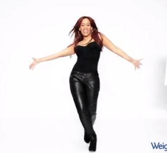 Amel Bent danse pour Weight Watchers