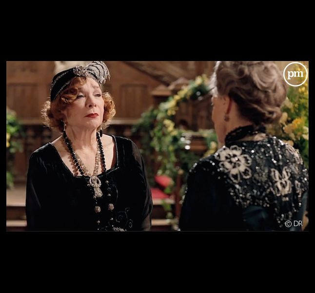 "Shirley MacLaine face à Maggie Smith dans ""Downton Abbey"""