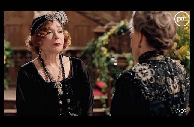 "Shirley MacLaine face à Maggie Smith dans ""Downton Abbey"""