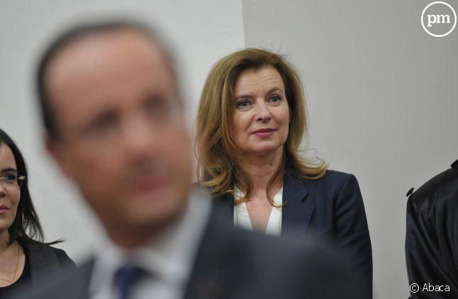 """Valérie Trierweiler réclame 40.000 euros aux auteurs de """"La Frondeuse"""" et 40.000 euros à la maison d'édition."""