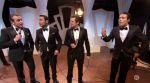 """Zapping : Jean Dujardin, Gilles Lellouche et Guillaume Canet en chanson pour """"Le Débarquement"""""""