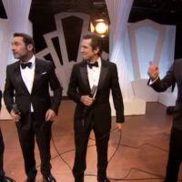 Zapping : Jean Dujardin, Gilles Lellouche et Guillaume Canet en chanson pour