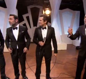 Jean Dujardin, Gilles Lellouche, Guillaume Canet et...