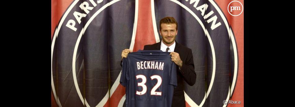 David Beckham arrive au PSG