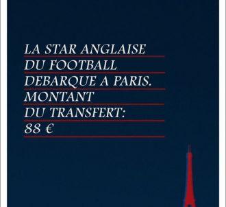 Eurostar ironise sur l'arrivée de Beckham au PSG