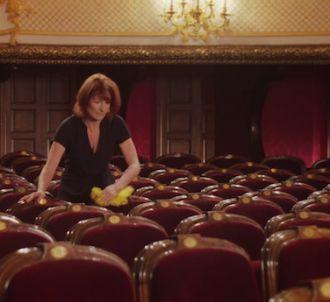 Muriel Mayette, la patronne de la Comédie française, fait...
