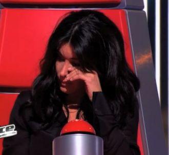 Jenifer en larmes dans 'The Voice'