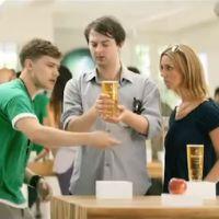 Pub : Une marque de cidre se moque des Apple Stores