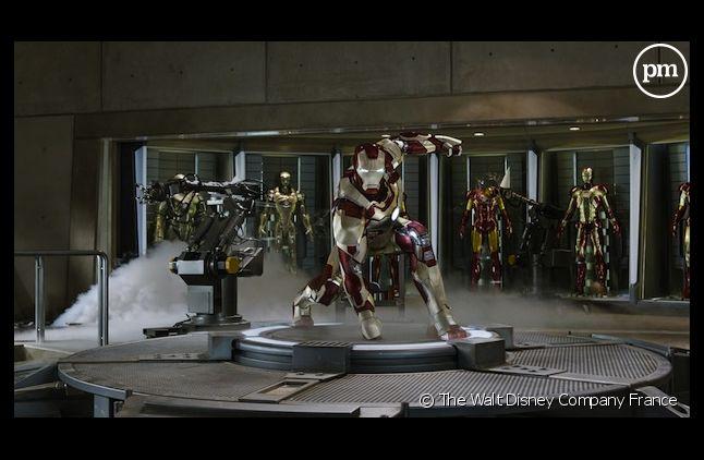"""""""Iron Man 3"""" a frappé fort pour son premier jour d'exploitation outre-Atlantique"""
