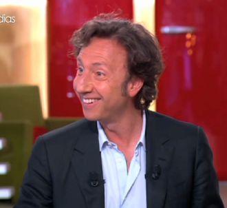 Stéphane Bern dans 'C à vous' sur France 5.