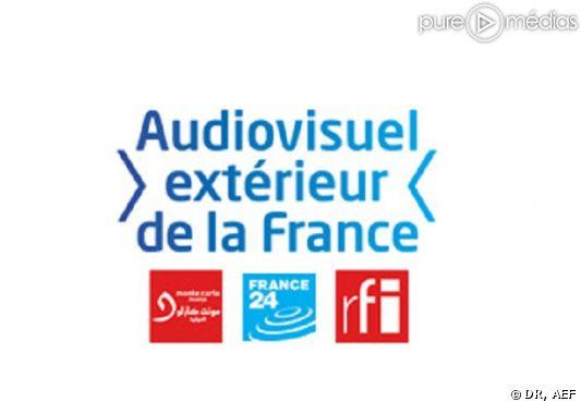 Logos de l 39 audiovisuel ext rieur de la france aef et de for Audiovisuel exterieur de la france