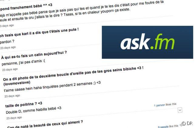 """Un """"dialogue"""" sur Ask.fm"""