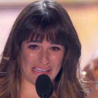 Zapping : Très émue, Lea Michele évoque Cory Monteith lors des Teen Choice Awards