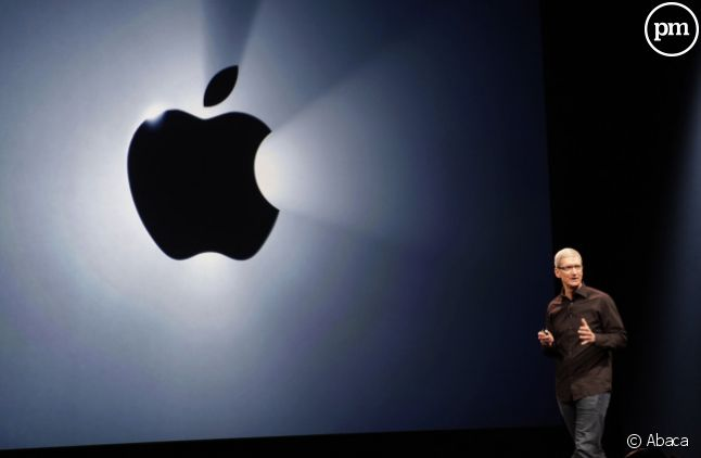 Tim Cook, le patron d'Apple, il y a un an, en septembre 2012.