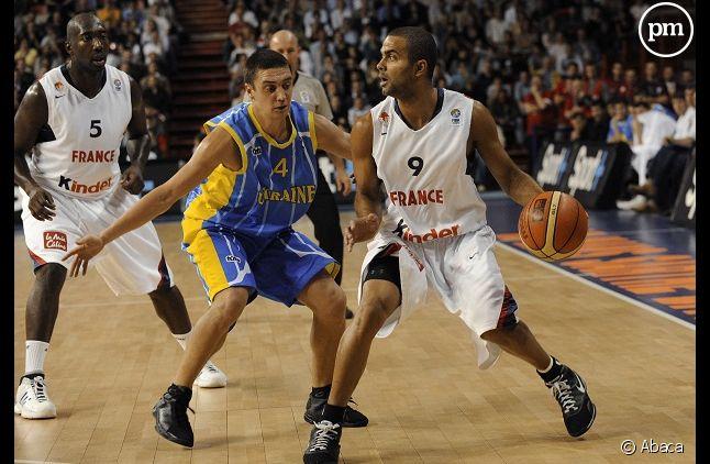 Tony Parker lors du dernier Euro de Basket
