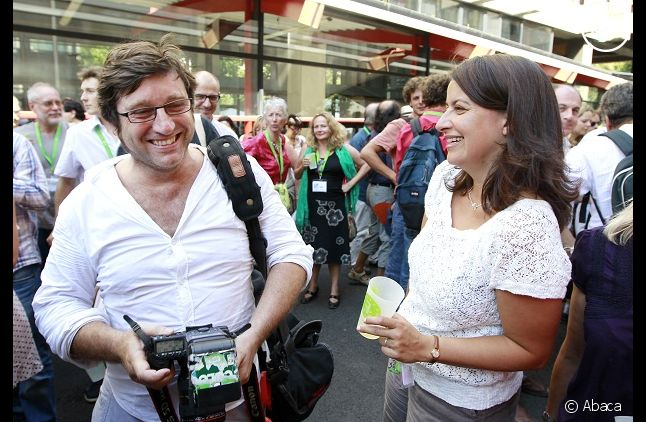 Xavier Cantat et Cécile Duflot