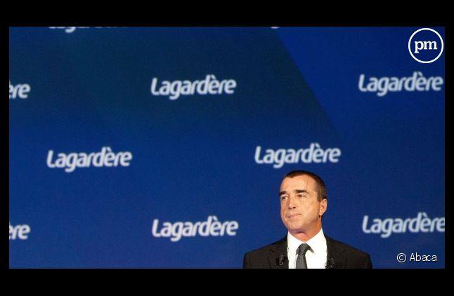 """Le groupe d'Arnaud Lagardère (ci-contre) continue de discuter avec Vivendi sur """"le magot"""" de Canal+"""