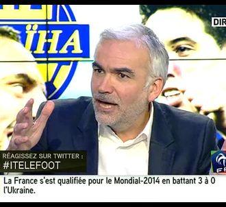 i-TELE, le 19 novembre après la victoire des Bleus.