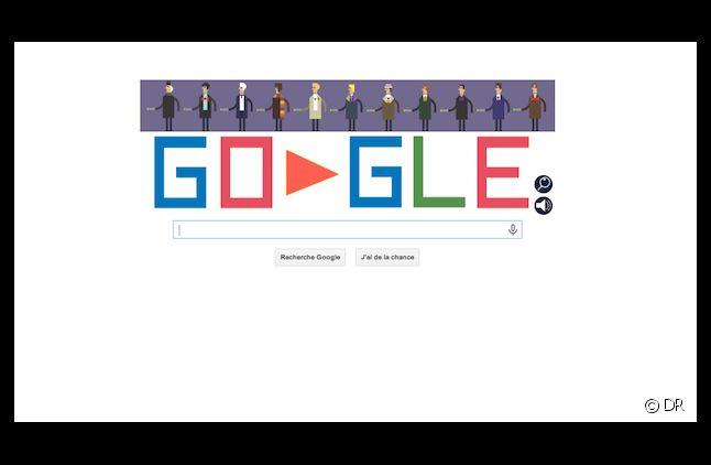"""Google consacre son """"Doodle"""" du jour à l'anniversaire de """"Doctor Who"""""""