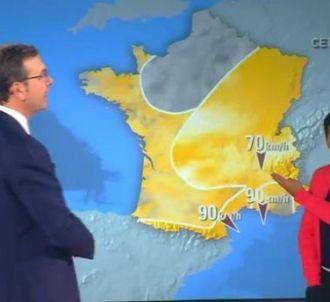 Jamel Debbouze présente la météo dans la matinale...
