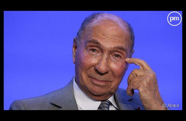 Serge Dassault, le maire de Corbeil Essonnes