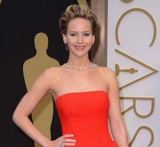 Jennifer Lawrence est une nouvelle fois tombée lors des...